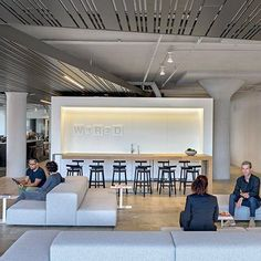 Wired HQ Office by Gentler. Wired's new offices, designed by Gensler, provide a variety of communal spaces for working and socializing.