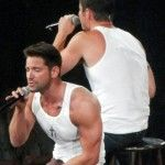 The Package Tour - Gallery : 98 Degrees - Jeff Timmons & Nick Lachey