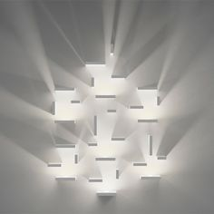 """""""Infinitely modular and endlessly configurable, 'Set' by J Ll Xuclà for Vibia cleverly uses light and shadow to produce unique illumination effects that create volume out of the insubstantial"""""""