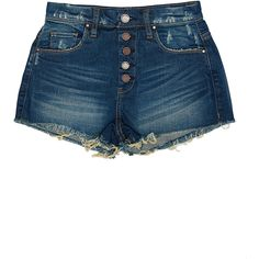 Blank Nyc Short (361705301) (115 AUD) ❤ liked on Polyvore featuring shorts, bottoms, pants, skirts/shorts, fresh to death, cut off shorts, cutoff shorts, blanknyc, cut off short shorts and short shorts