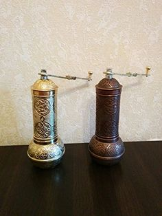 Armenian Handmade Antique Coffee Grinder 3 Different Colors 75 Gold *** Continue to the product at the image link.