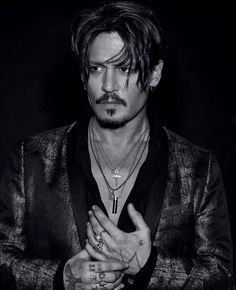 FILM LOVERS ARE SICK PEOPLE — Johnny Depp by Jean-Baptiste Mondino