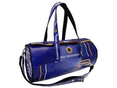 15974813b241 SPORT BAG BLUE AND LIGHT BLUE COLOURS WITH SHADED EFFECT. ROLLING MODEL  MADE OF LORRY