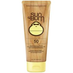 Amazon.com: Sun Bum SPF 70 Moisturizing Sunscreen Lotion, 3-Ounce: Sun... (119.475 IDR) ❤ liked on Polyvore featuring beauty products, bath & body products and sun care