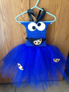 Cookie Monster tutu dress on Etsy, $30.00