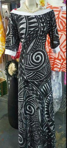 Puletasi Island Wear, Island Outfit, Samoan Dress, Island Style Clothing, Florida Outfits, Vintage Street Fashion, Dress Patterns, African Fashion, Plus Size Fashion
