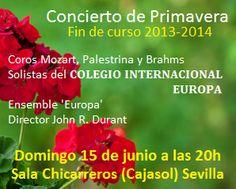 Concierto de Primavera - Final de curso 2013-2014