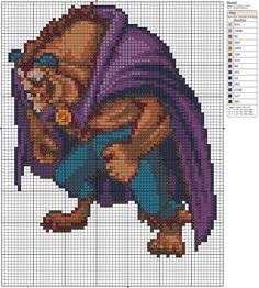Beast by *Makibird-Stitching on deviantART
