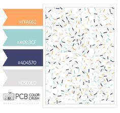 sprinkles Color Palette - Paint Inspiration- Paint Colors- Paint Palette- Color- Design Inspiration