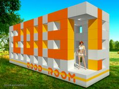 Personal mobile residence robotransformer. 3D art design home house hotel inn creative life future interior exterior graphics inventor transformer mobile robot machine concept style computer smarthome smarthouse smart future dream architecture comfort wifi display дом дизайн интерьер графика компьютер умныйдом домбудущего архитектура уют робот
