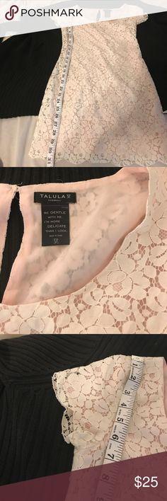 Ladies dress Ladies cream lace dress with lining , size XXsmall Talula Dresses Midi