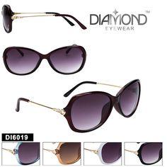 bb56e8c6af Bulk Diamond™ Fashion Sunglasses - DI6019 (Assorted Colors) (12 pcs.)  Wholesale DiamondsBuying ...