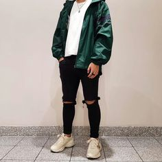 Retro Outfits, Cool Outfits, Casual Outfits, Men Casual, Fashion Outfits, Aesthetic Fashion, Urban Fashion, Daily Fashion, Fashion Brenda