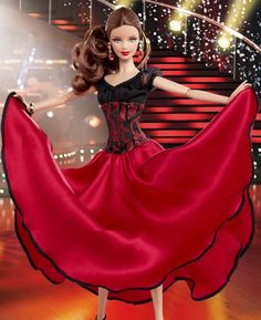 barbie dancing with the stars paso doble doll | Dancing with the Stars Paso Doble Barbie® Doll