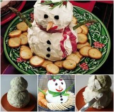 Snowman Cheese Ball A Fun Addition To Your Table | The WHOot