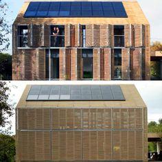 """537 curtidas, 15 comentários - Arquitetura Sustentável (@sustentarqui) no Instagram: """"Vamos continuar falando em bambus?!😉💚  .  Essa linda casa passiva em bambu foi construída em 2010…"""""""