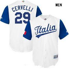 http://www.jersey-kingdom.ru/Men&s-MLB-Jerseys/Men&s-Italy-Baseball--29-Francisco-Cervelli-Majestic-White-2017-World-Baseball-Classic-Stitched-Replica-Jersey-137989.html