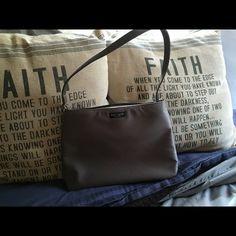 Kate spade bag Gunmetal grey satin kate spade Bags Shoulder Bags