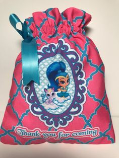Shimmer and Shine favor bags, Shimer favor bags, Shimmer and Shine fiesta, Shimmer and Shine party. Set of 10 . READY TO SHIP Shimmer N Shine, Candy Table, 3rd Birthday Parties, Favor Bags, Favors, Birthdays, Sweet, Handmade Gifts, Etsy
