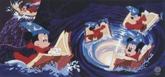 Always read the manual first! - Disney Fantasia - Sorcerer Mickey