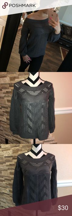 Gray Sweater New condition (bin D) Sweaters