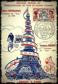 Cinquantenaire Du Tour De France, 1953.