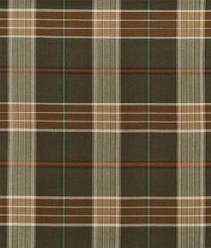 Ralph Lauren Lantern House Brown/Sage Fabric