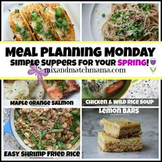 Meal Planning Monday #270