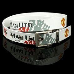 Manchester UNited belt wear it Pride attitude and fashion