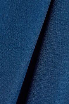 Stella McCartney - Mirabella Cape-effect Stretch-cady Gown - Cobalt blue - IT50