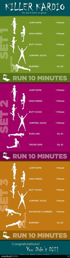 Great indoor workout.