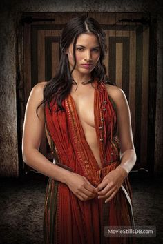 Spartacus: Blood And Sand - Promo shot of Katrina Law