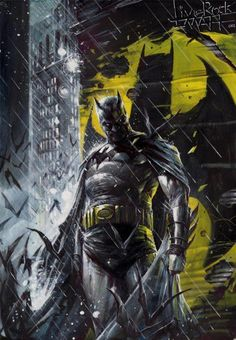 Bruce Wayne - Batman my all time favorite superhero besides nightwing and raven and wonder woman!