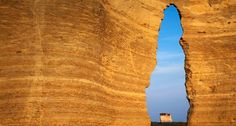 Bing Image Archive: Keyhole Arch in Monument Rocks National Natural Area, Kansas (© Charles Gurche /Danita Delimont)(Bing United States)