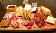 Autumn Charcuterie Plate with Homemade Pickled Vegetables