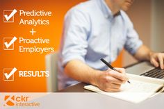 Did you know you have the ability to tell the future? You actually do, and no, we're not lying to you. With predictive analytics, you can predict who in your #workforce is going to leave and when it'll happen. How is this going to help #employers keep their #employees ? Read on.  #recruitment #marketing #employer #branding