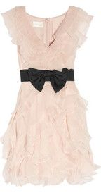 This is so cute and girly for a rehearsal dinner dress or even a party dress.