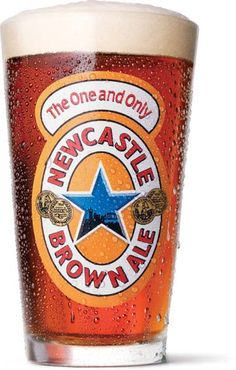 NewCastle Brown Ale is simplistic, but has a delicious nutty, caramel flavor to it. Guinness and Newcastle are in my top 5 beers currently. Newcastle Brown Ale, British Beer, Beer 101, Dark Beer, Beers Of The World, Coors Light, Best Beer, Vase, Packaging