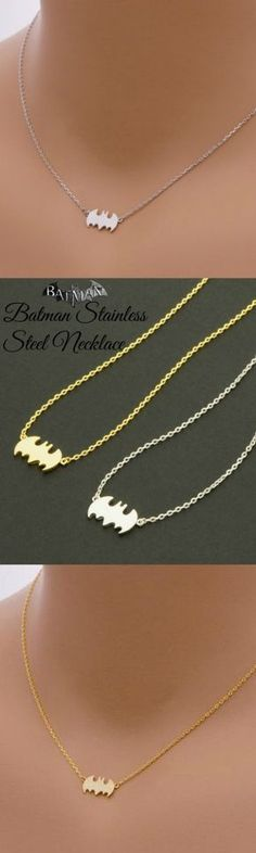 Batman Stainless Steel Necklace! Click The Image To Buy It Now or Tag Someone You Want To Buy This For.  #Batman