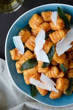 Sweet Potato Gnocchi with Balsamic Brown Butter   Just a Taste