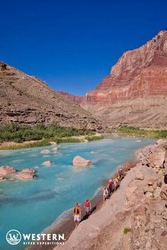 """""""This Trip Should be on Everyone's Bucket List!"""" Western River 6 & 7 day Grand Canyon rafting trips."""