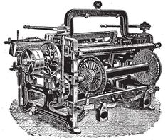 Week 13 -This is the power loom which was invented during the industrial revolution by Edmund Cartwright.