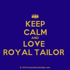 Who needs One Direction when you have Royal Tailor!