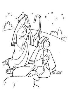 Nativity Coloring Page Free - Free Coloring Sheets Christs Shepherds Coloring Page - Nativity Coloring Page Free Kids Christmas Coloring Pages, Christmas Stories For Kids, A Christmas Story, Christmas Colors, Coloring For Kids, Coloring Rocks, Childrens Christmas, Christmas Night, Nativity Coloring Pages