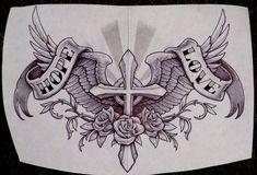 Lucky Tattoo by Metacharis on DeviantArt Cross Tattoo Designs, Tattoo Design Drawings, Tattoo Designs Men, Family Tattoo Designs, Cross Designs, Tribal Tattoos, Body Art Tattoos, Hand Tattoos, Sleeve Tattoos