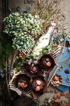 Muffins de chocolate - Because blog
