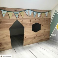 Baby Bedroom, Baby Room Decor, Kids Bedroom, Wood Crafts Furniture, Living Room Playroom, Cosy House, Attic Rooms, Kids Room Design, Home Staging