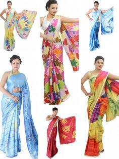 Get exciting offer in #designer printed #saree only at sairandhri.com For more details contact us>> +919300066411 #indiansareestore