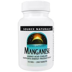 Source Naturals, Manganês, 10 mg, 250 comprimidos iherb Nutrition Classes, Nutrition And Dietetics, Nutritional Value Of Eggs, Coconut Milk Nutrition, Vitamins For Kids, Sports Food, Natural Herbs, Nutritional Supplements