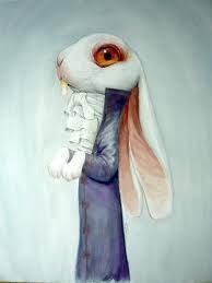 Rébecca Dautremer Alice in Wonderland; Gap, South of France, Rabbit Drawing, Rabbit Art, Rabbit Hole, Lapin Art, Chesire Cat, Art Et Illustration, Fairytale Art, Arte Horror, Animal Drawings